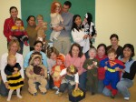 Our baby class on Halloween